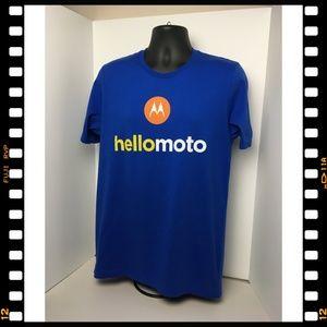 Bella Canvas Shirts - T-Shirt~Motorola~Hello~Moto~